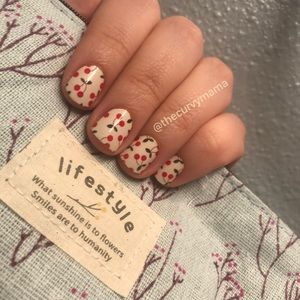 2/$20 cherry on top Incoco nails